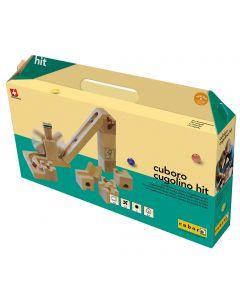 Cuboro - Cugolino Hit - Houten knikkerbaan