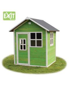 Exit - Loft 100 Green - Houten speelhuisje