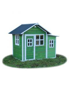 Exit - Loft 150 Green - Houten speelhuisje