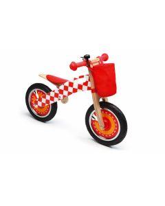 Scratch - Balance Bike L - Formule 1 - Houten loopfiets