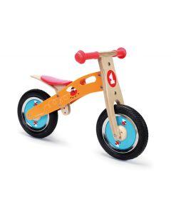 Scratch - Balance Bike S - Vliegen - Houten loopfiets
