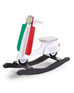 Childhome - Scooter Italy - Houten schommelpaard