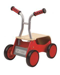 Hape - Little Red Rider - Houten loopfiets - Rood