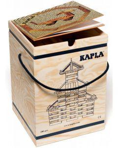 Kapla - Bouwblokjes - 280 stuks + Boek Beige