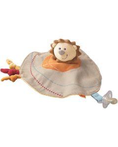 Haba - Knuffeldoekje Leeuw Uppsala - Babyspeeltje