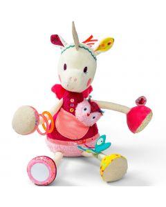 Lilliputiens - Louise Actie-Eenhoorn - Babyspeeltje