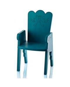 Magis Me Too - Reiet Kinderstoel - Pruissisch Groen