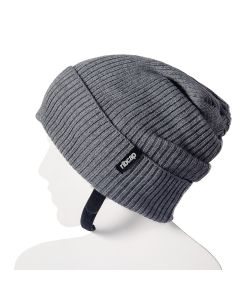 Ribcap - Lenny Grey Large - 59-61cm