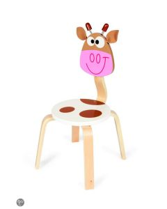 Scratch - Kinderstoel Koe