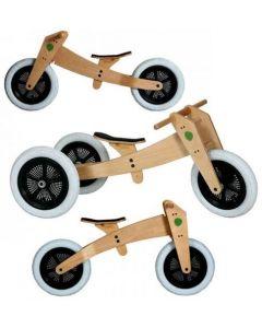 Wishbone Bike - 3-in-1 Original - Houten loopfiets