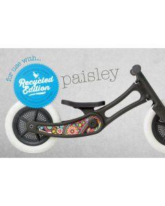 Wishbone Bike - Re-Bike Sticker - Paisley