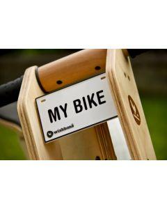 Wishbone Bike - Naamplaat voor loopfiets