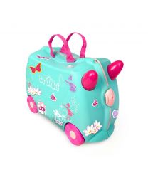 Trunki - Fee Flora - Ride-on en reiskoffer - Blauw