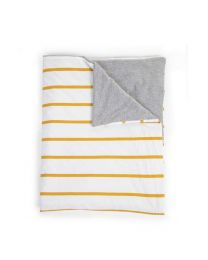 Childhome - Deken - 80x100 cm - Jersey Ochre Stripes