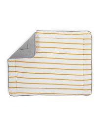 Childhome - Parkligger/Speeltapijt - 75x95 cm - Jersey Ochre Stripes