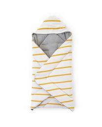Childhome - Babywrapper Universeel - 75x75 cm - Jersey Ochre Stripes