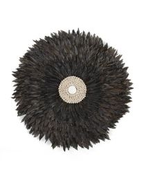 Childhome - Juju Feathers 50 Cm - Anthraciet - Muurdecoratie