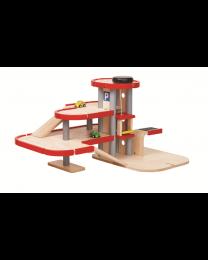 Plan Toys - Garageset 6271 - Hout