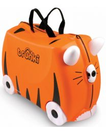 Trunki - Tipu Tijger - Ride-on en reiskoffer - Oranje