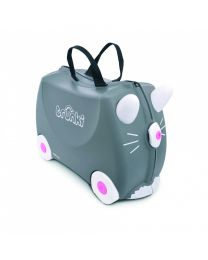 Trunki - Benny Kat - Ride-on en reiskoffer - Grijs