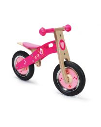 Scratch - Balance Bike S - Love Birds - Houten loopfiets