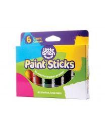 Little Brian - Verfstiften Klassieke kleuren - 6st