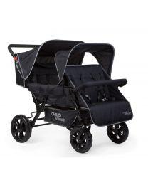 Childhome - Meerlingwagen Two By Two voor 4 Kinderen
