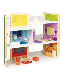 Hape - Doe Het Zelf Droom Huis - Houten poppenhuis