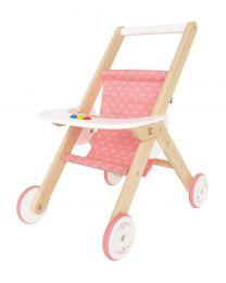 Hape - Stroller - Houten poppenwagen buggy