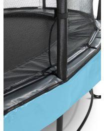 Exit - Elegant Premium Trampoline + Veiligheidsnet Deluxe - Blauw
