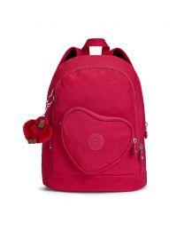 Kipling - Heart Backpack True Pink - Boekentas Roze