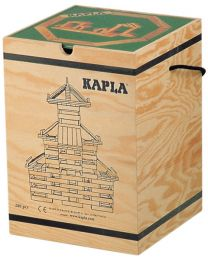 Kapla - Bouwblokjes - 280 stuks + Boek Groen