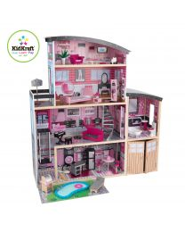 Kidkraft - Sparkle Mansion Poppenhuis