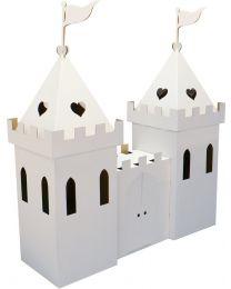 Kid Eco - Kartonnen Prinsessenkasteel Wit