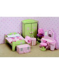 Le Toy Van - Daisylane - Slaapkamer - Voor poppenhuis
