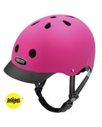 Nutcase - Little Nutty - Pink Bubbles - MIPS - Kinderhelm (48-52cm)
