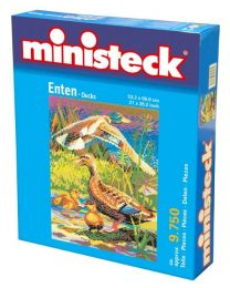 Ministeck - Eenden – 9750st - Mozaïek steentjes