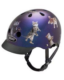 Nutcase - Street Space Cats - M - Fietshelm (56-60cm)