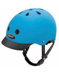 Nutcase - Street Bay Blue Matte - S - Fietshelm (52-56cm)