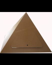Paperpod - Kartonnen Pyramide Bruin