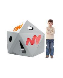 Paperpod - Kartonnen Capsule Wit