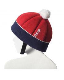 Ribcap - Freddie Red/Marine Maxi Kids - 53-55cm