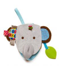 Skip Hop - Knuffelboekje Olifant - Babyspeeltje