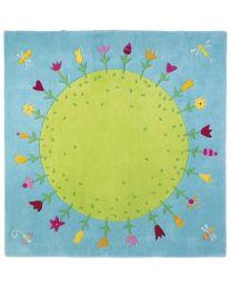 Haba - Bloemenplaneet - Kindertapijt - 150x150cm