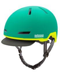 Nutcase - Tracer Aurora Green Matte - M/L - Fietshelm (56-60 cm)