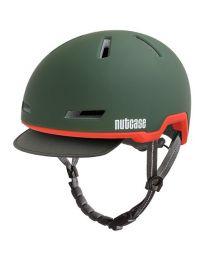 Nutcase - Tracer Cascade Green Matte - M/L - Fietshelm (56-60 cm)