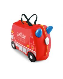 Trunki - Frank Brandweerwagen - Ride-on en reiskoffer - Rood