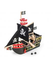 Le Toy Van - Piratenboot Barbarossa - Houten speelset