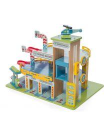 Le Toy Van - De grote Garage - Houten speelset
