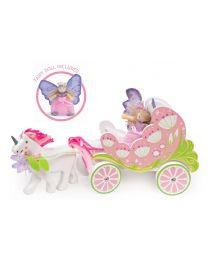 Le Toy Van - Fairybelle Coach en eenhoorn - Houten speelset